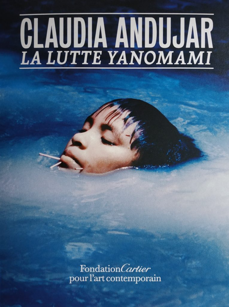 Livre de l'exposition, La lutte Yanomami par Claudia Andujar