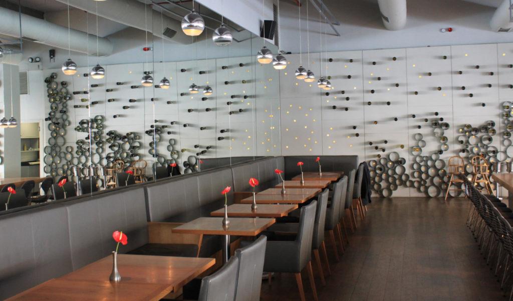 Restaurant du musée d'Art Moderne à Istanbul