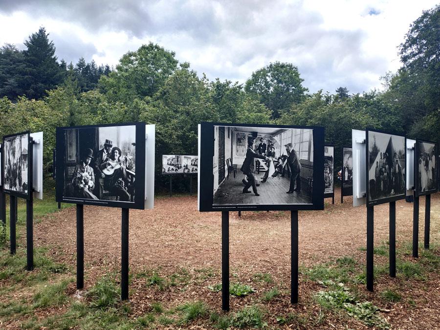Exposition du photographe équatorien Emmanuel Honorato Vázquez à La Gacilly, Bretagne, France.
