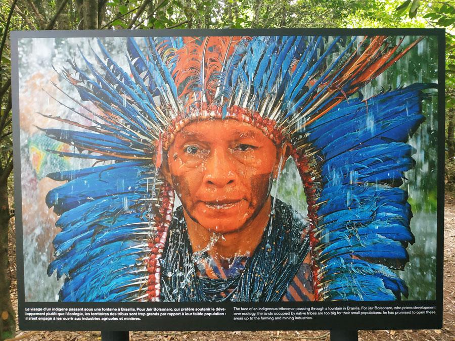 Indien du Brésil photographié par Carl de Souza